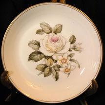 "Royal Worcester Rose+Daffodil Pin Dish Butter Pat 4½ "" - $9.26"