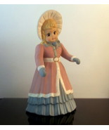 Vintage Christmas Caroler Noelle 13.5 inch Suga... - $24.99
