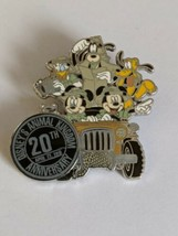 Animal Kingdom 20th Anniversary Walt Disney World LR Pin - $19.79