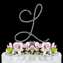 Renaissance Monogram Wedding Cake Topper Large Letter L By Other - $12.24