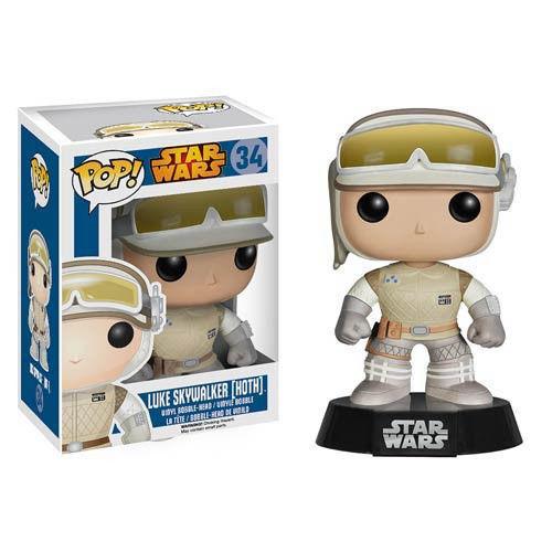 Funko POP Star Wars Hoth Luke Action Figure NEW IN BOX
