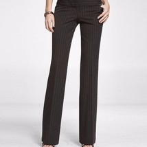 Express Dark Gray Metallic Pinstriped Flared Pant NWOT $88 - $39.50