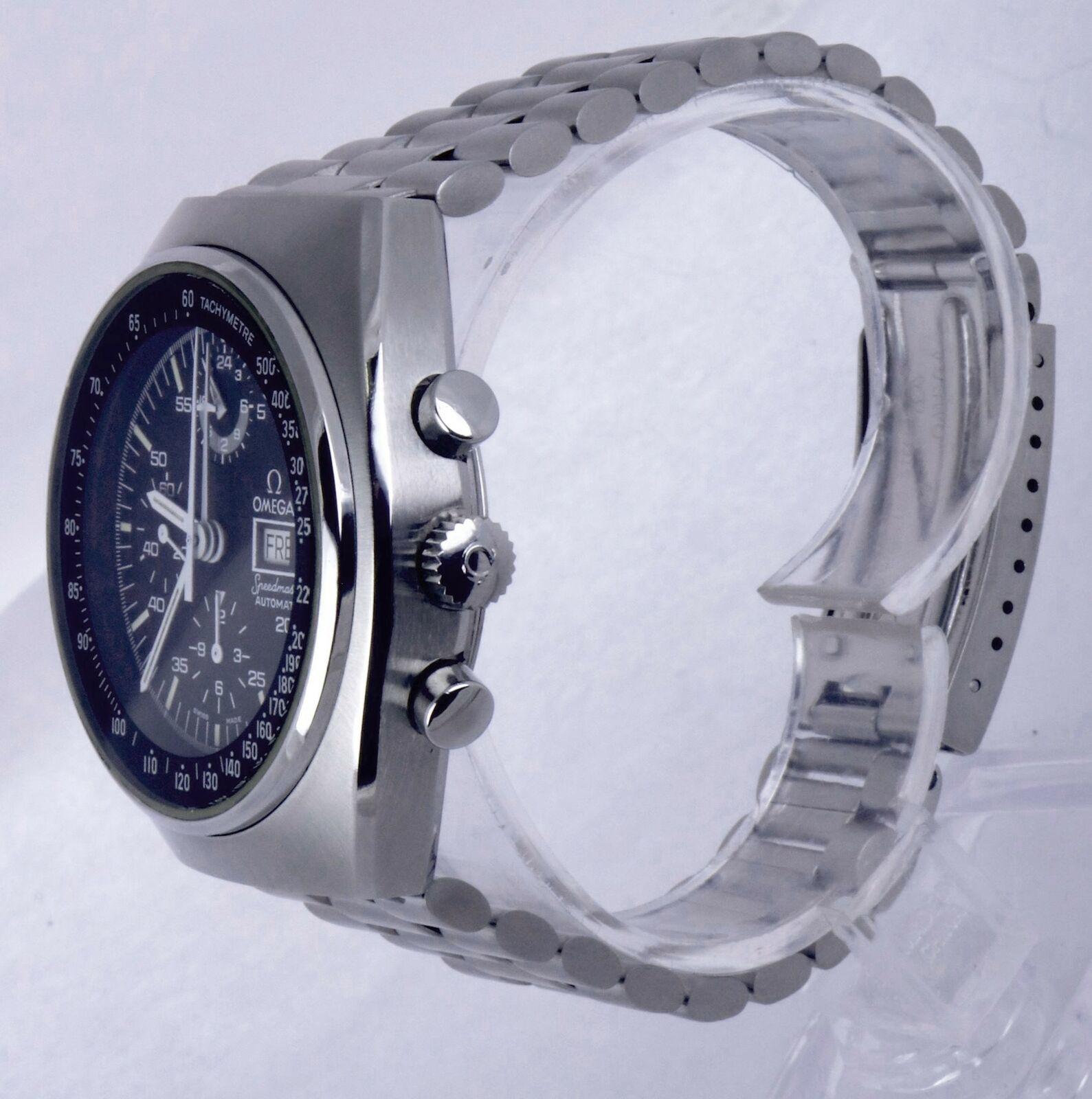 MINT Omega Speedmaster Mark IV Automatic 42mm Steel Mens Watch 176.0012