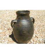 OLD Vintage Thrown Italian Pottery Olive Jug 1960s BZ - $119.98