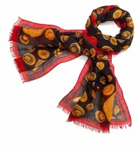 Tory Burch Scarf Moroccan Engineered Hat Print NEW - $115.00