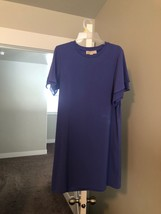 MICHAEL KORS Purple DRESS /SHIRT SIZE M - $34.64