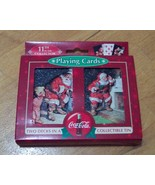 Two Decks of Sealed Coca-Cola Playing Cards in ... - $14.99