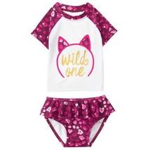 NWT Gymboree Tails of the City Wild One Rashguard Swimsuit Set 3T 4T 5T - $12.99