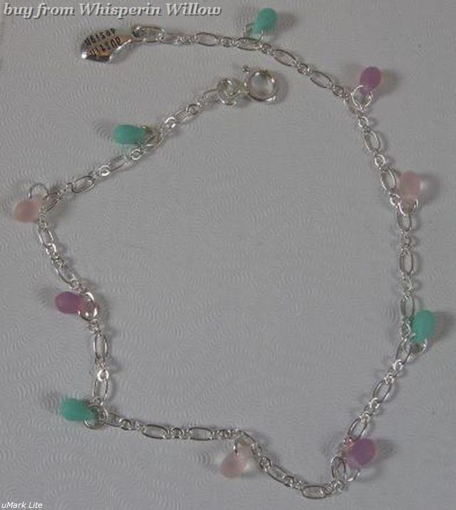 Seaglass anklet 4769