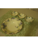 "Vintage BTC Porcelain 9 1/2"" Berry Bowl, 5"" Berry Bowls Germany  - $47.99"