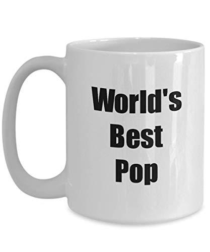 Primary image for Pop Mug Worlds Best Funny Christmas Gift Idea for Novelty Gag Coffee Tea Cup 15