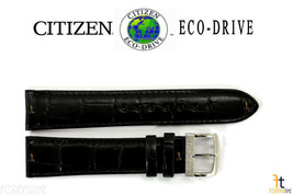 Citizen BM8240-03E Eco-Drive 20mm Black Leather Watch Band StrapBM8240-11A - $52.15