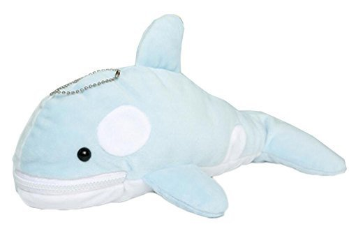 Whale Plush Coin Bag For Students And Children Carring Stationery