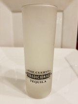 Vintage Jose Cuervo Tequila Frosted Double Shot Glass - $7.12