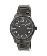 Citizen Men's BI1025-53E Black Stainless-Steel Quartz Fashion Watch - $80.75