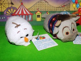 "New! Disney Frozen Olaf and Sven Set Tsum Tsum Lot Mini 3.5"" Collectible - $3.99"