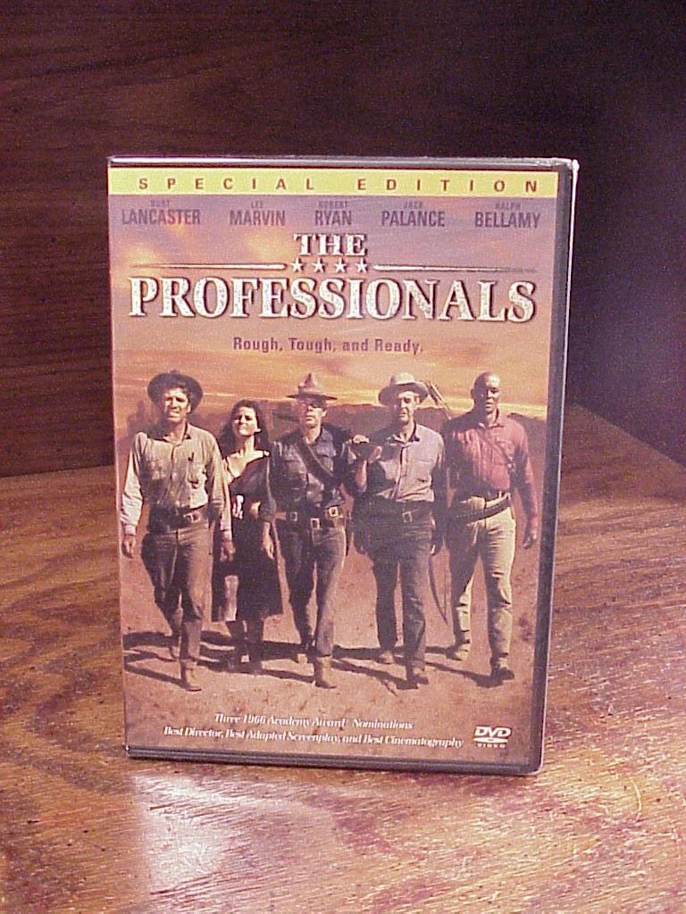 Primary image for The Professionals Western DVD, Sealed, 1966, with Burt Lancaster, Lee Marvin