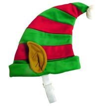 NEW Size Medium Outward Hound Elf Hat Red Green Dog Holiday Pet Costume - €6,57 EUR