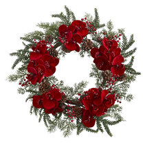 "22"" Orchid, Berry & Pine Holiday Wreath 4884 - €43,69 EUR"