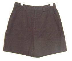 Sz 12 - Gap Classic 100% Cotton Black Jean Denim Shorts - $25.64