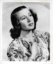 Gladys Swarthout Autographed 1940's Photograph June Larson Collection~Opera - $29.99
