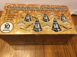 Countdown To A New Year! Deluxe New Year's Party Kit Ships N 24h - $17.62