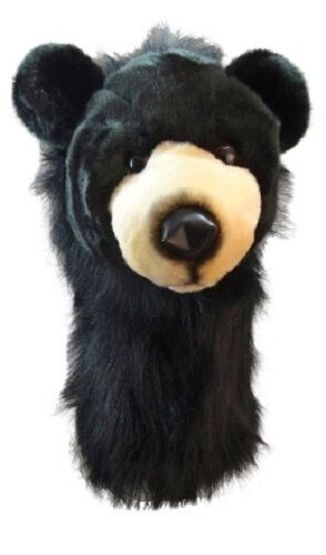 Primary image for Black Bear Daphne Head Cover-  460CC friendly Driver or Fairway Club