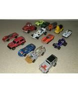 Vintage Toy Car Lot - Hot Wheels, Matchbox, Ertl, Tootsietoys etc.  14 p... - $26.62