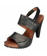 WORN ONCE BACIO 61 Shoes Vandoies Metallic High Heel Sandals sz 9.5 - $58.41