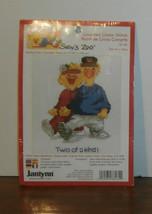 "Grandchildren Current Cross Stitch Kit 11"" x 14"" Opened - $7.84"