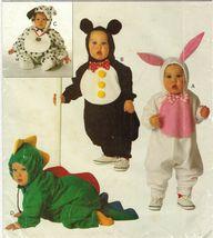 Infant Bunny Mouse Dinosaur Puppy Animal Halloween Costume Sew Pattern 1... - $13.99