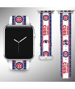 Chicago Cubs Apple Watch Band 38 40 42 44 mm Series 1 2 3 4 Wrist Strap 3 - $29.99+