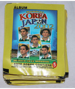Navarrete 2002 FIFA Korea Japan World Cup Soccer Futbal 72-5 Card Wax Packs - $173.77