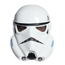 Star Wars Stormtrooper Vacuform Halloween Costume Mask White - $19.98
