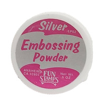 Stampendous Embossing Powder, Silver #EP02 image 2