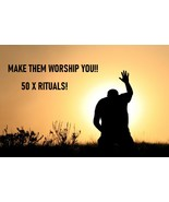 WORSHIP ME RITUALS 50 X CAST-FORCE WORSHIP FROM YOUR TARGET LOVE OBSESSI... - $60.00