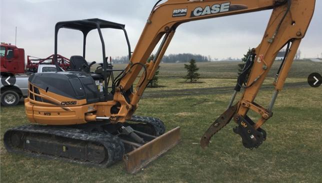 2013 CASE CX55B For Sale In Celina, Ohio 45822