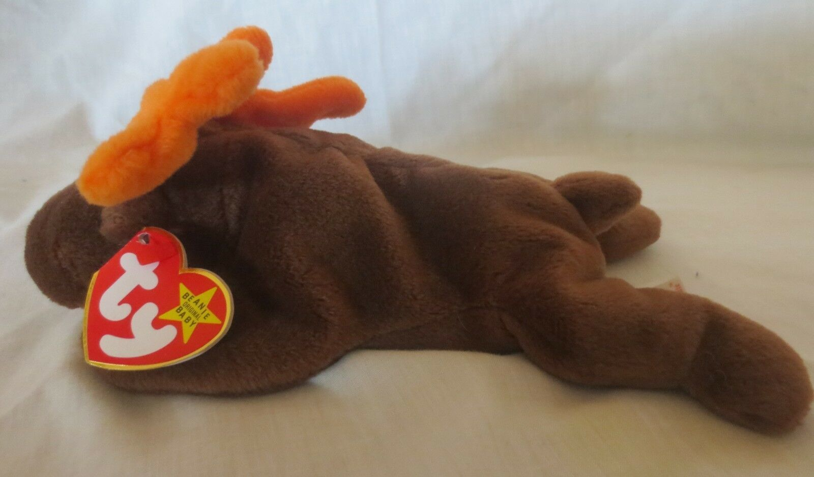 Primary image for Ty Beanie Baby Chocolate the Moose 4th Generation Hang Tag PVC Filled Style 4015