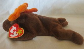 Ty Beanie Baby Chocolate the Moose 4th Generation Hang Tag PVC Filled St... - $8.90