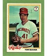 1978 Topps #450 Tom Seaver- Reds - $6.86