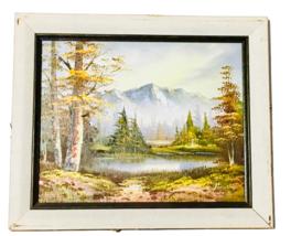Framed Landscape Scenery Painting Wall Art - $24.75
