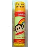 Lip Smacker Paul Frank RAINBOW SHERBET Julius Lip Gloss Balm Chap Stick Rare - $5.00