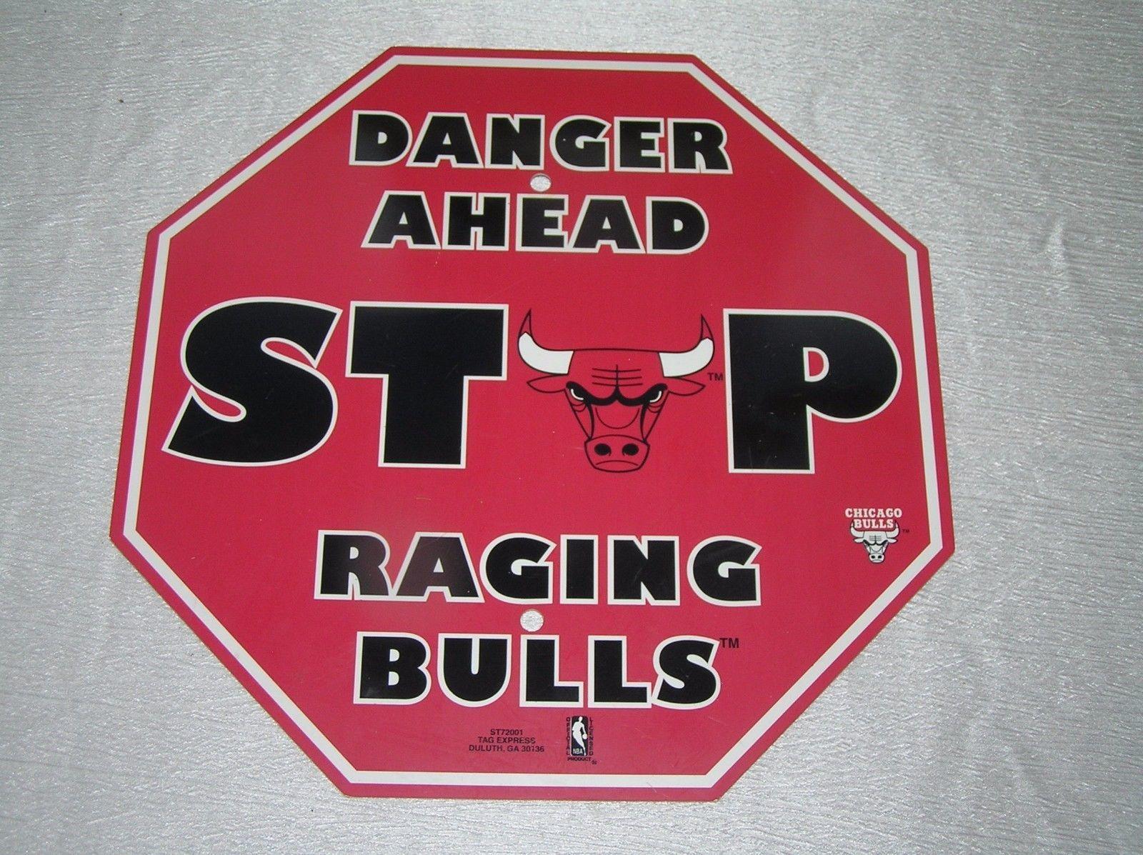 35d39987902 Tag Express Danger Ahead Stop Raging Bulls and 50 similar items