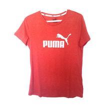 Women Puma Logo Graphic Shirt M - $10.00