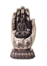 Kuan Yin on Palm Statue - $45.00