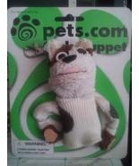 PETS.COM Original SOCK PUPPET dog mascot KEYCHAIN 1999-2000 NIB Card - $8.00