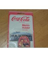 1991 Coca-Cola Magnetic Memo Holder - $1.99