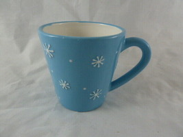 Holiday 2006 Starbucks Snowflakes on Blue with Snowman Inside 4 fl oz cu... - $9.89