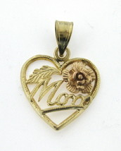 Women's 14kt Yellow and Rose Gold Charm - $89.00