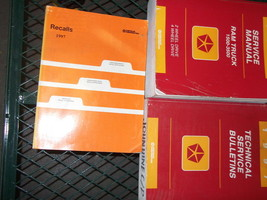 1997 Dodge Ram Truck 1500 2500 3500 Service Shop Repair Manual SET FACTO... - $287.05